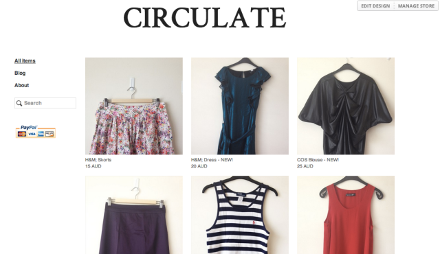 Circulate on Tictail